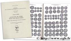 Antioche de Syrie sous les Séleucides : corpus des monnaies dor et dargent - I. de Séleucos I à Antiochos V c. 300-161 LE RIDER G.