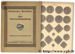 Salzburger Raritäten sowie Alte Universalsammlung HAMBURGER L.