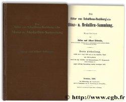 Die Ritter von Schulthess-Rechbergsche Münz- u. Medaillen-Sammlung ERBSTEIN A., ERBSTEIN J.