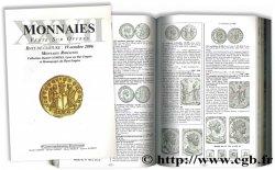 Monnaies XXVII - Monnaies Romaines : Collection Daniel COMPAS, Lyon au Bas Empire et Monnayages du Haut Empire COMPAS D., PARISOT N.,PRIEUR M., SCHMITT L.