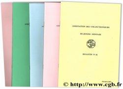 Association des collectionneurs de jetons-monnaie : cinq bulletins