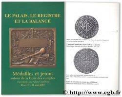 Le palais, le registre et la balance - Médailles et jetons autour de la Cour des comptes