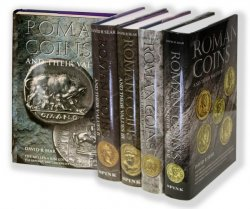 Roman Coins and their Values (Série complète de 5 volumes) SEAR David R.