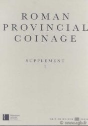 Roman provincial coinage, supplément I Collectif