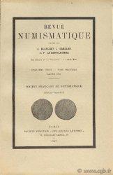 Revue Numismatique 1946, Ve série, tome IX