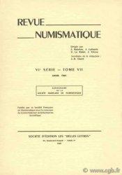 Revue Numismatique 1965, VIe série, tome VII