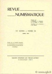 Revue Numismatique 1967, VIe série, tome IX