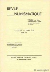 Revue Numismatique 1977, VIe série, tome XIX