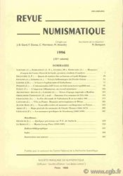 Revue Numismatique 1996, 151e volume