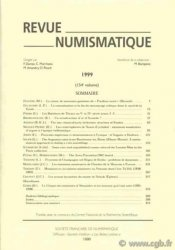 Revue Numismatique 1999, 154e volume