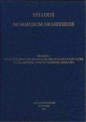 Sylloge Nummorum Graecorum. France 7 Département des monnaies, médailles et antiques. Paphlagonie, Pont et Arménie Mineure DALAISON Julie