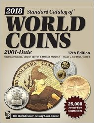 2018 Standard Catalog of World Coins - 2001-date - 12th edition