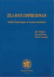 Zéla sous lEmpire Romain : étude historique et corpus monétaire - Numismatica Anatolica 4 DALAISON Julie, RÉMY Bernard, AMANDRY Michel