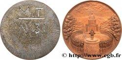 LOUIS-PHILIPPE Ier Médaille uniface, revers au Panthéon - de Louis Marie de Cormenin