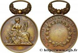 TROISIÈME RÉPUBLIQUE Médaille du concours du phare littéraire de Paris