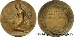 III REPUBLIC Médaille de la ville de Paris - cyclo-club