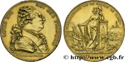 LOUIS XVI Médaille de la ville de Paris - J. S. Bailly maire
