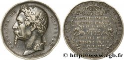 SECOND EMPIRE Médaille de l'annexion de la Savoie et de Nice à la France