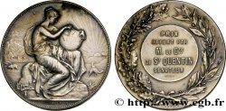 TROISIÈME RÉPUBLIQUE Médaille de géographie - prix offert par le sénateur