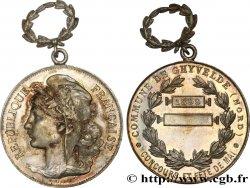 TROISIÈME RÉPUBLIQUE Médaille de Chyvelde - concours et fête de mai