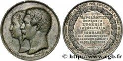 SECOND EMPIRE Médaille de la grande librairie napoléonienne
