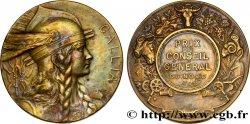 DRITTE FRANZOSISCHE REPUBLIK Médaille GALLIA, Prix du conseil général du Nord fVZ