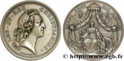 LOUIS XV DIT LE BIEN AIMÉ Médaille de la paix d'Aix-la-Chapelle