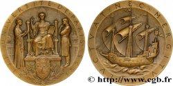 III REPUBLIC Médaille de l'Université de Paris