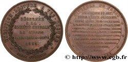 SECOND EMPIRE Médaille de chorale, décernée par Hector Berlioz