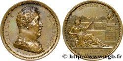 CHARLES X Médaille de Charles X, né à Versailles