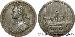 LOUIS XV DIT LE BIEN AIMÉ Médaille du mausolée du Maréchal Maurice de Saxe