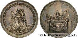 LOUIS XV DIT LE BIEN AIMÉ Médaille du tombeau du maréchal de Saxe