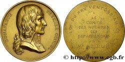 TROISIÈME RÉPUBLIQUE Médaille de Bonaparte, premier consul