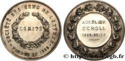 TROISIÈME RÉPUBLIQUE Médaille du comité de la Société des gens de lettres