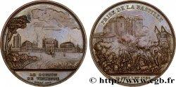 LOUIS-PHILIPPE I Médaille de le prise de la Bastille et du château de Vincennes