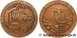 TROISIÈME RÉPUBLIQUE Médaille du congrès interrégional du gaz des forêts
