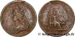 LOUIS XIV LE GRAND ou LE ROI SOLEIL Médaille de Jules Hardouin-Mansart