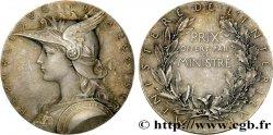 TROISIÈME RÉPUBLIQUE Médaille de prix du Ministère de l'Intérieur