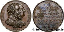 LOUIS XVIII Médaille de la statue équestre d'Henri IV