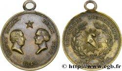 II REPUBLIC Médaillette de Ledru Rollin et Felix Pyat