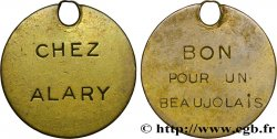 V REPUBLIC Médaille / Bon pour un Beaujolais