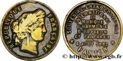 III REPUBLIC Médaille du Concours de Pantin VF