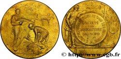 DRITTE FRANZOSISCHE REPUBLIK Médaille de la Société des agriculteurs du Nord fVZ