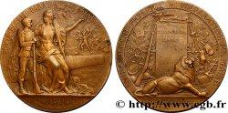 TROISIÈME RÉPUBLIQUE Médaille de tir - PRO PATRIA