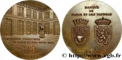 V REPUBLIC Médaille du centenaire de la Banque Paribas AU