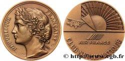 CINQUIÈME RÉPUBLIQUE Médaille du club numismatique d'Air France