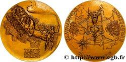QUATRIÈME RÉPUBLIQUE Médaille du Traité de Rome TTB+