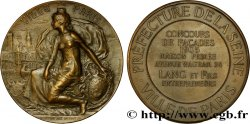 TROISIÈME RÉPUBLIQUE Médaille de concours de façades