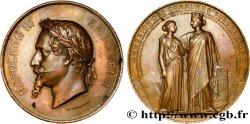 SECOND EMPIRE Médaille d'annexion des communes suburbaines