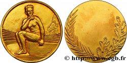 TERCERA REPUBLICA FRANCESA Médaille de natation